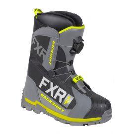 Снегоходные ботинки FXR BACKSHIFT BOA19 Black/Char/Hi Vis