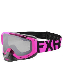 Очки снегоходные FXR BOOST CLEAR MX 19 Elec Pink/Black