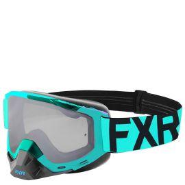 Очки снегоходные FXR BOOST CLEAR MX 19 Mint/Black