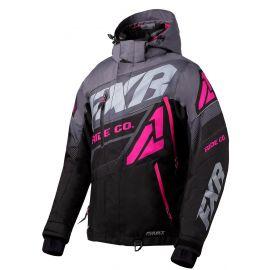 Снегоходная куртка женская FXR BOOST FX 20 Black/Charcoal/Fuchsia