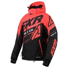 Снегоходная куртка женская FXR BOOST FX 20 Black/Coral