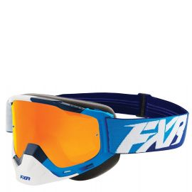 Очки снегоходные FXR BOOST XPE MX 18 Blue/White/Navy