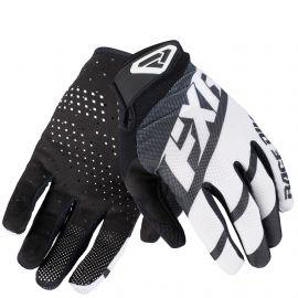 Мотоперчатки FXR CLUTCH STRAP MX 19 Black/White