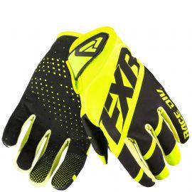Мотоперчатки FXR CLUTCH STRAP MX 19 HiVis/Black