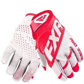 Мотоперчатки FXR CLUTCH STRAP MX 19 Red/White
