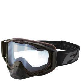 Очки снегоходные FXR CORE CLEAR 18 Black/Charcoal
