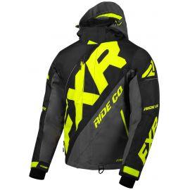 Снегоходная куртка FXR CX 20 Black/Char/Hi Vis