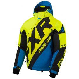 Снегоходная куртка FXR CX 20 Hi Vis/Blue/Black