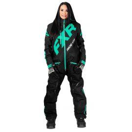 Снегоходный комбинезон женский FXR CX INSULATED LADY 20 Black/Mint