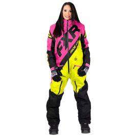 Снегоходный комбинезон женский FXR CX INSULATED LADY 20 Hi Vis/Elec Pink/Black