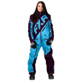 Снегоходный комбинезон женский FXR CX INSULATED Sky Blue/Plum