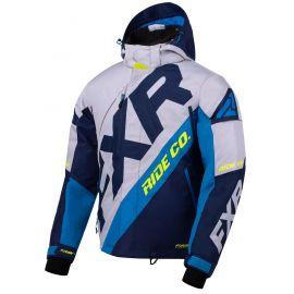 Снегоходная куртка FXR CX 20 Lt Grey/Navy/Blue/Hi Vis