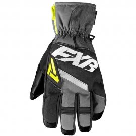 Снегоходные перчатки FXR CX SHORT CUFF 18 Black/Char/HiVis