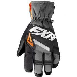 Снегоходные перчатки FXR CX SHORT CUFF 18 Black/Orange