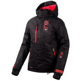 Снегоходная куртка женская FXR FRESH LADY 20 Black Linen/Coral