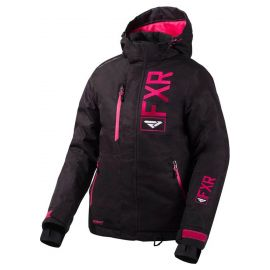Снегоходная куртка женская FXR FRESH LADY 20 Black Linen/Fuchsia