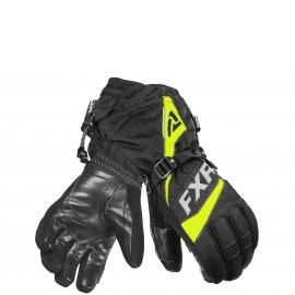 Перчатки снегоходные FXR FUEL 20 Black/Hi Vis