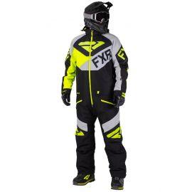 Снегоходный комбинезон FXR FUEL FX 20 Black/Lt Grey/Hi Vis