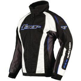 Снегоходная куртка женская FXR FUSION Black/Cyan/Char