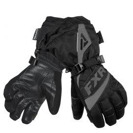 Перчатки снегоходные женские FUSION LADY 19 Black/Charcoal