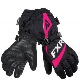 Перчатки снегоходные женские FUSION LADY 19 Black/Fuchsia