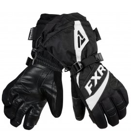 Перчатки снегоходные женские FUSION LADY 19 Black/White