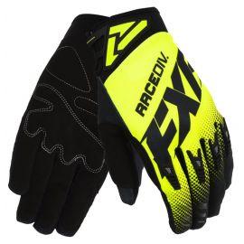 Мотоперчатки FXR FACTORY RIDE ADJUSTABLE MX 20 Black/HiVis