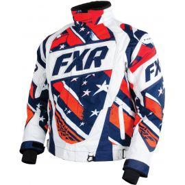 Снегоходная куртка FXR HELIX 15 Org/Stripes