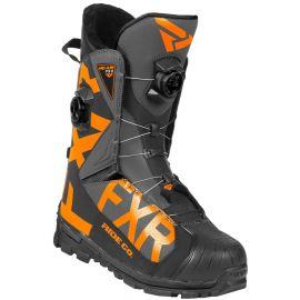 Снегоходные ботинки FXR HELIUM PRO BOA 20 Black/Char/Orange