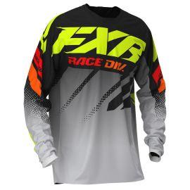 Джерси FXR CLUTCH MX 20 Black/Grey Fade/Hi Vis/Red