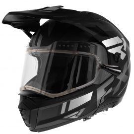 Шлем для снегохода FXR MAVERICK MODULAR TEAM 20 (визор с подогревом) Black/Char/White
