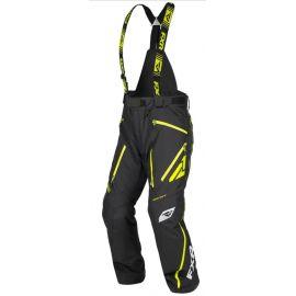 Снегоходные брюки FXR MISSION X 19 Black/Hi-Vis