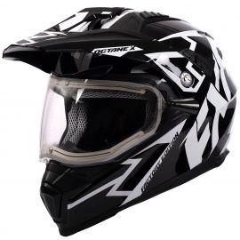 Шлем для снегохода FXR OCTANE X DEVIANT 20 (визор с подогревом) Black/White