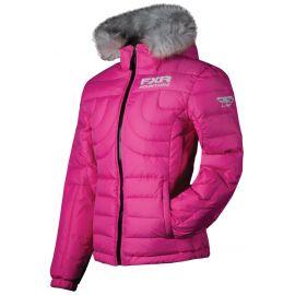 Снегоходная куртка женская FXR PUFF Fuchsia