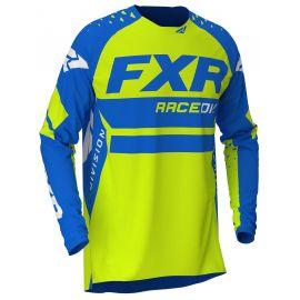 Джерси FXR REVO MX 20 Blue/Hi-Vis/White