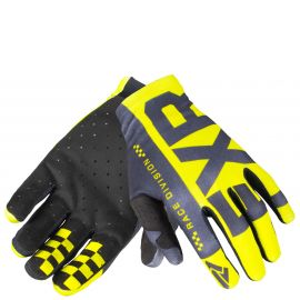 Мотоперчатки FXR Slip on Lite MX 19 HiVis/Black