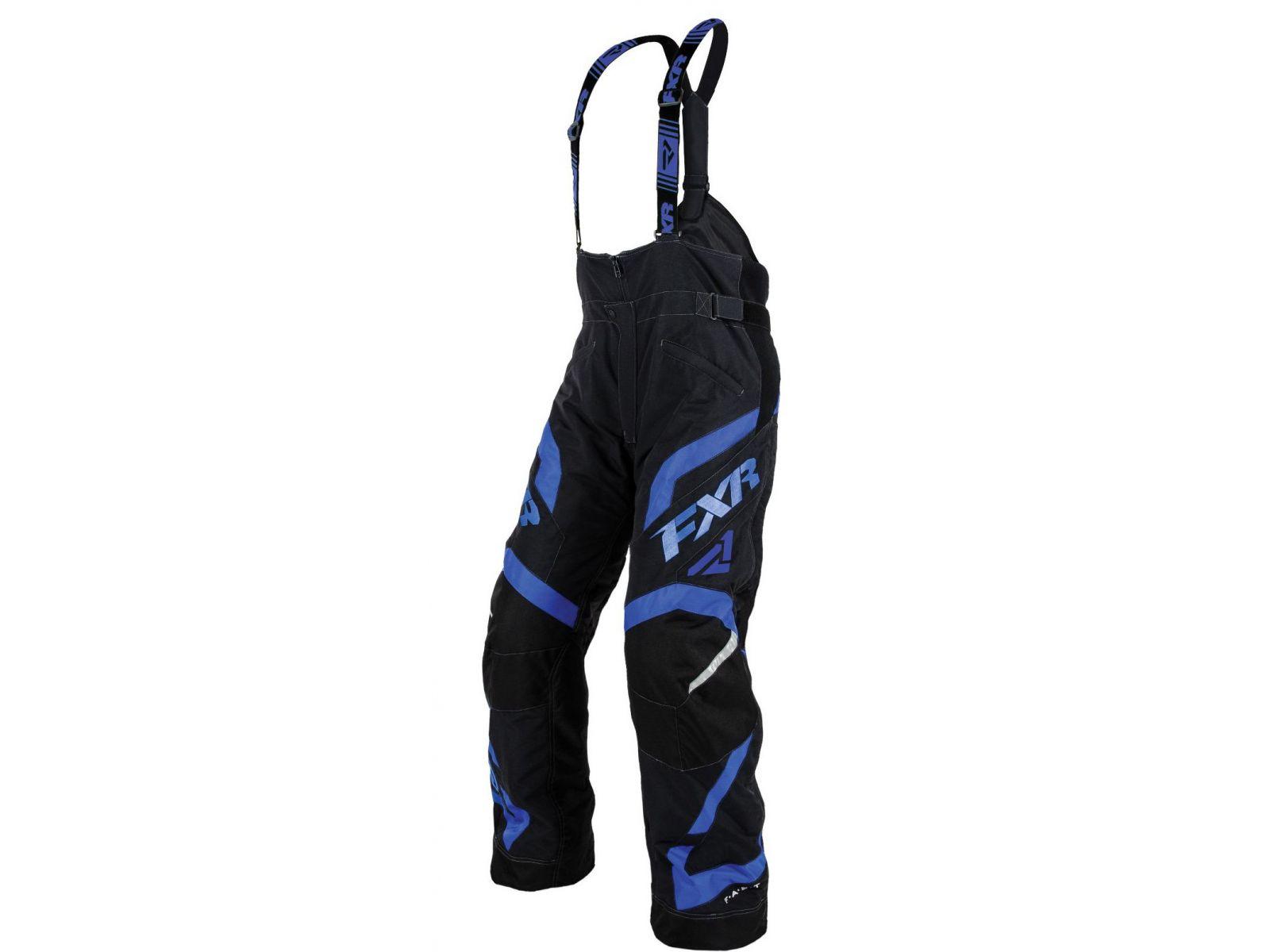 Снегоходные брюки FXR TEAM FX 15 Black/Blue