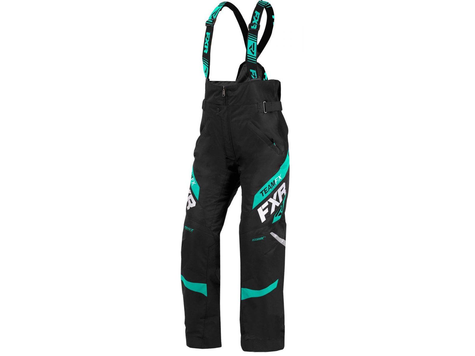 Снегоходные брюки женские FXR TEAM LADY 20 Black/Mint