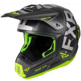Мотошлем FXR Torque Evo 19 Black/Lime/Char