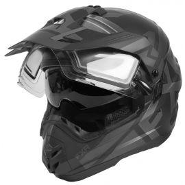 Шлем для снегохода FXR TORQUE X EVO 20 (визор с подогревом и солнцезащитными очками) Black Ops