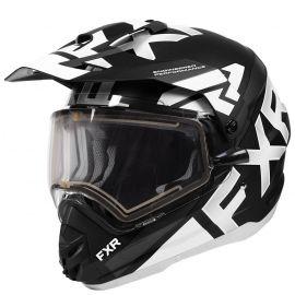 Шлем для снегохода FXR TORQUE X EVO 20 (визор с подогревом) Black/White