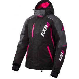 Снегоходная куртка женская FXR VERTICAL PRO LADY 20 Black/Charcoal/Fuchsia