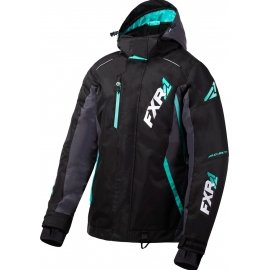 Снегоходная куртка женская FXR VERTICAL PRO LADY 20 Black/Charcoal/Mint