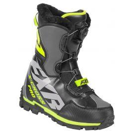 Снегоходные ботинки FXR X-CROSS PRO BOA 19 Black/Hi Vis