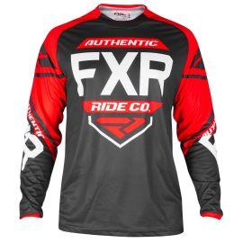Джерси детская FXR YOUTH CLUTCH RETRO MX 19 Black/Red/White