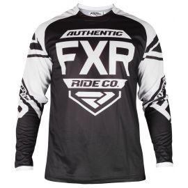 Джерси детская FXR YOUTH CLUTCH RETRO MX 19 Black/White