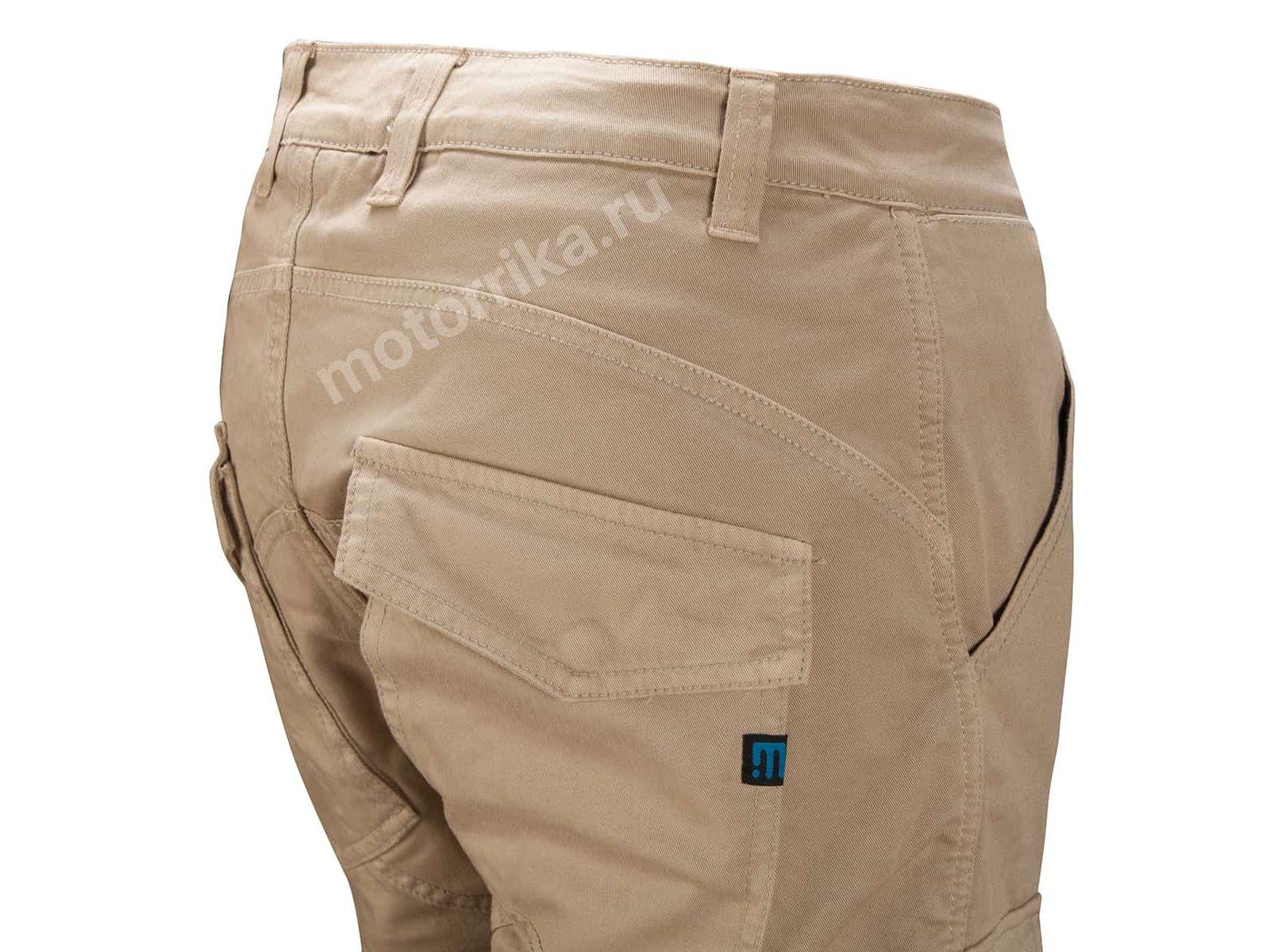 Мотобрюки PROmo Jeans Santiago Sand