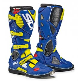 Мотоботы Sidi Crossfire 3 Yellow Fluo/Blue