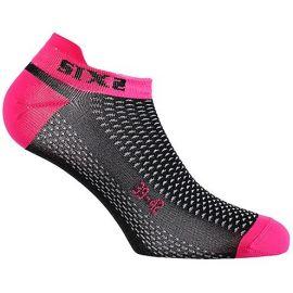 Носки SIXS  FANTS C Black-pink