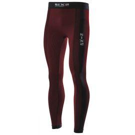 Термобрюки SIXS PNX Dark red